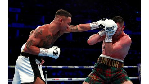 Taylor beats Prograis in super-lightweight unification bout
