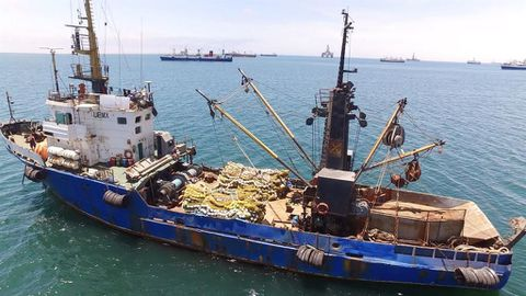 Killer vessel is headed for scrapyard