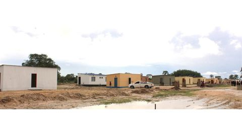 Tsandi community receives houses