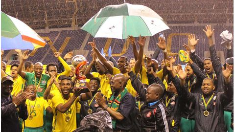 Bafana lift Four Nations Cup