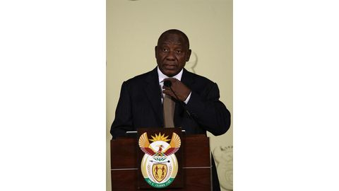 Cyril's transitional Cabinet
