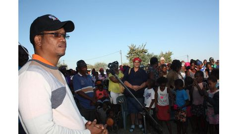 Swartbooi's land strategy pays dividends