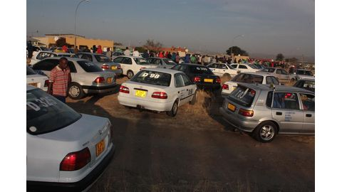 Taxi drivers want Geingob