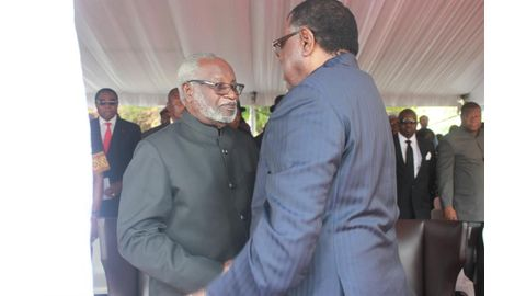 Nujoma entitled to privileges - Swapo