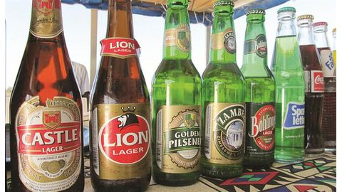 AB InBev's Zim unit sales fall 10%