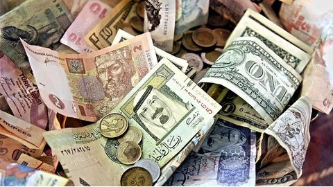 Foreign reserve drops indicate slow growth