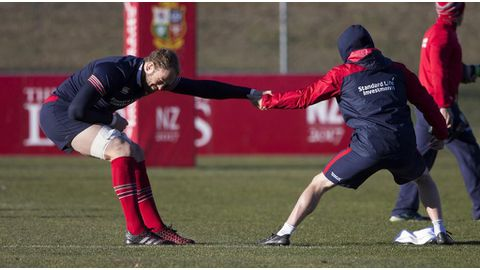 Lions focus on 3rd test