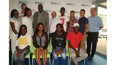 NMH sponsors students