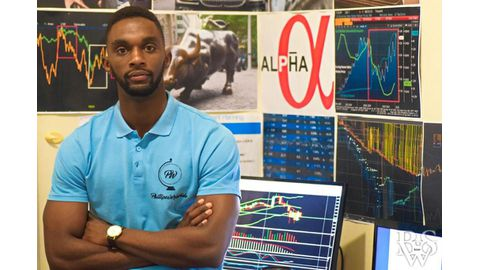 Namibia's young derivative trader