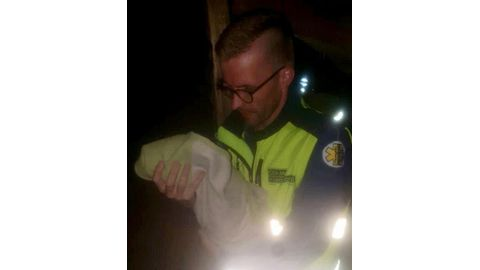 Mother mourns baby's death