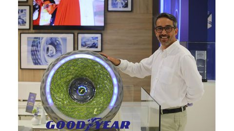 Goodyear presents top technologies at Tyre Cologne 2018