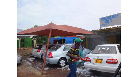 City structures car wash operations