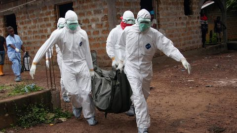 Guinea goes after Ebola
