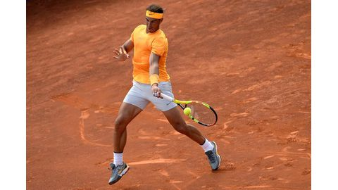 Patience pays off for Nadal