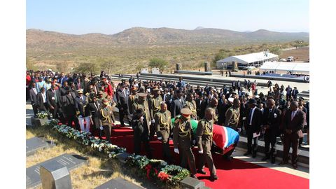 Iyambo laid to rest