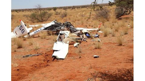 Pilot erred before crash