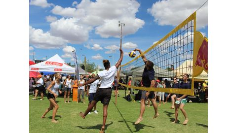 Volleyball comes to life