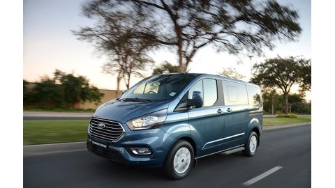 The new Ford Tourneo Custom Limited