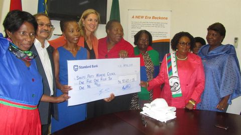 Dividend for Swapo women