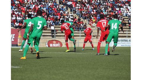 Warriors to face Zim in Hage Cup