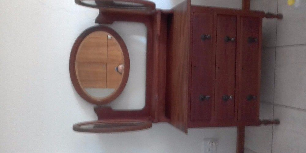 3 Draw Teak Wood Dressing Table My Namibia