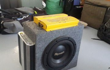 Sub Woofer box and Amplifiers