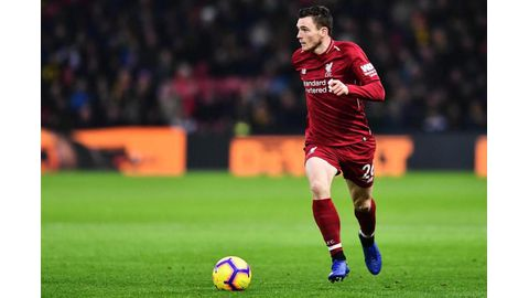 Liverpool's Robertson happy to let Klopp manage workload