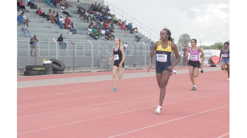 Athletes light up Oshakati