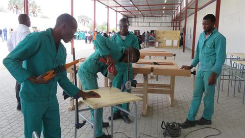 Eenhana energises vocational training