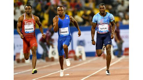 Simbine eases into semi-finals