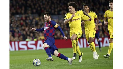 Messi in tight race