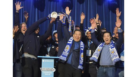 Tributes for Leicester's Thai boss