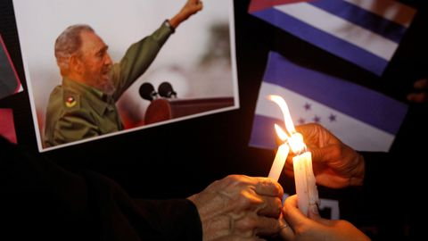 World mourns, celebrates Castro