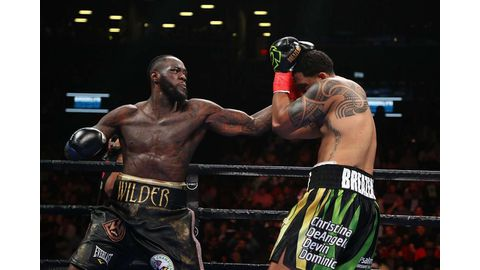 Wilder destroys Breazeale