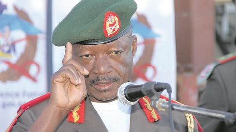 Army general in court for corruption