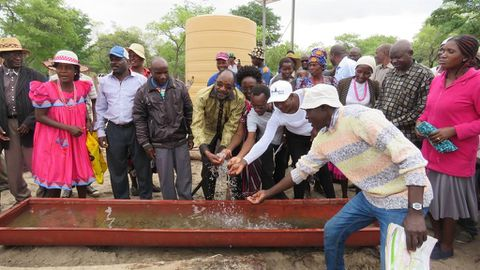 Aquifer critical for thirsty north