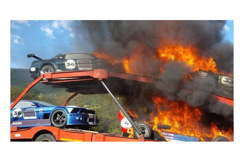 Race Cars Destroyed In Fire After Hillclimb Motors Republikein