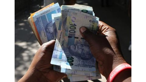 South African rand falls to new 5-month low vs dollar