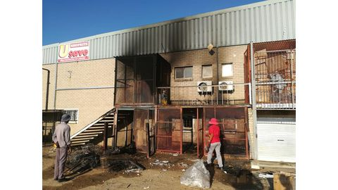 Arson charges after Shoprite fire