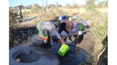 Water woes for Groot Aub