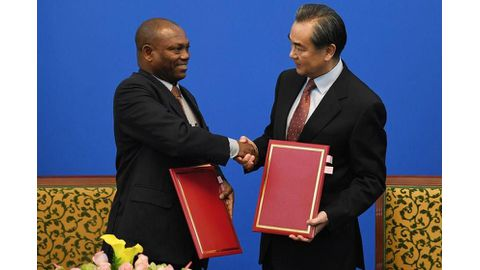 China woos Sao Tome