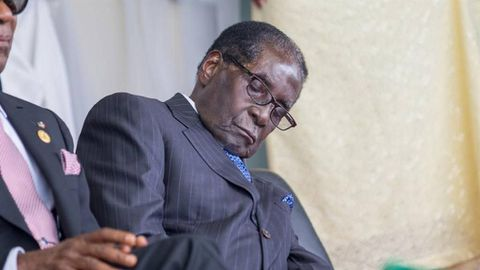 Mugabe wheelchair proof he is unfit