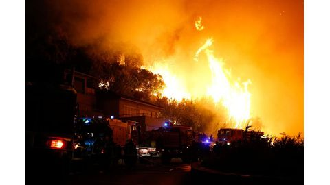 Teens charged with starting French wildfire