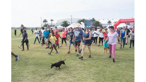 Rössing Fun Walk to aid cancer victims