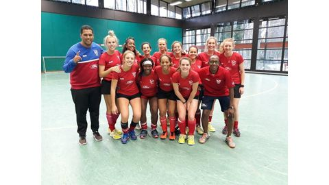 Namibia begins world cup onslaught