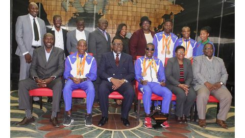 Paralympians visit State House