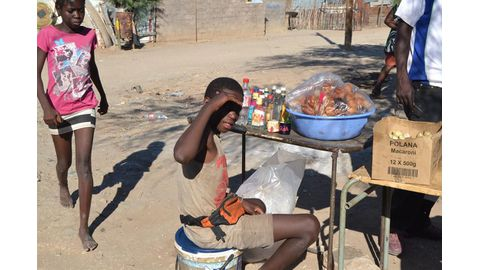 Namibia nailed in slavery     report