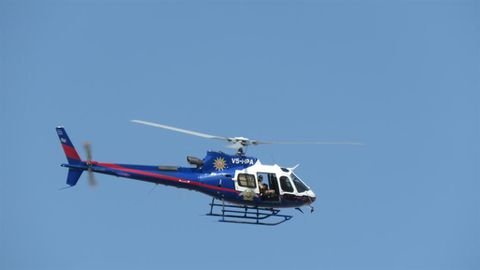 Police choppers on standby for rainy season