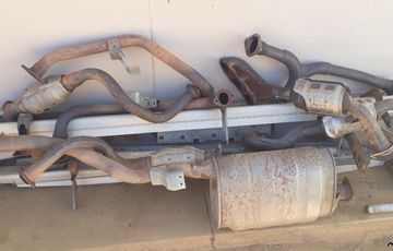 Exhaust system / Running Boards / Roll Bar