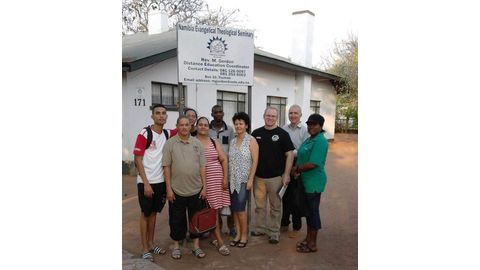 Africans in mission work